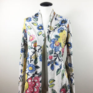 P14 Tabitha Floral Cardigan Sweater